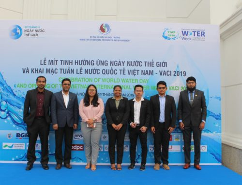 WEM Organized a Session in Vietnam International Water Week (VACI2019) on March 22, 2019 in Hanoi, Vietnam.
