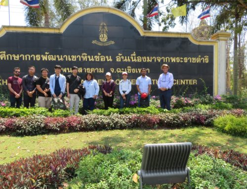 Bringing Education Out of Classroom: A Field Trip to Khao Hin Sorn Royal Development Study Centre
