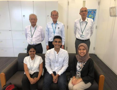A Kurita Scholarship awardee in WEM, writes about his internship experience in Japan